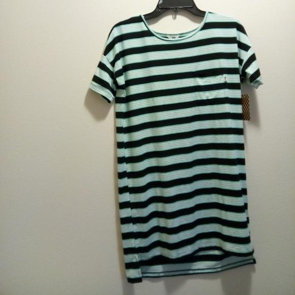 27fb8bb5ba79a Vans Dresses | Womens Stripe T Shirt Blue Dress Reek Havoc | Poshmark